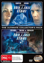 Hollow Man / Hollow Man 2 - The Ultimate Collector's Pack (2 Disc Set) on DVD