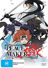 Peacemaker - Vol 7 Decision on DVD