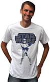 Star Wars - Stormtrooper 2-Tone Men's T-Shirt (Medium)