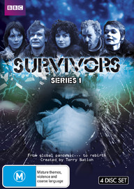 Survivors - Series 1 on DVD