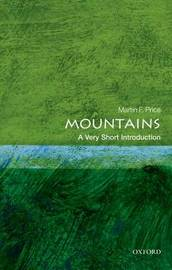 Mountains: A Very Short Introduction by Martin Price image
