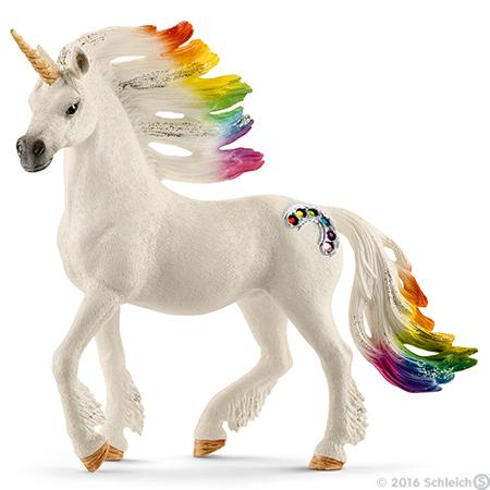 Schleich: Rainbow Unicorn Stallion
