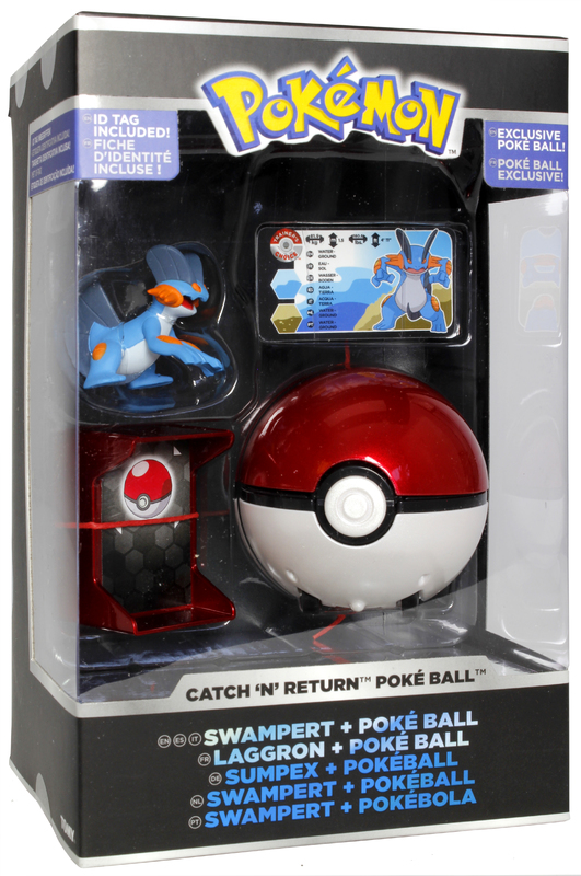 Pokemon: Pokémon Catch 'n Return - Swampert Poké Ball