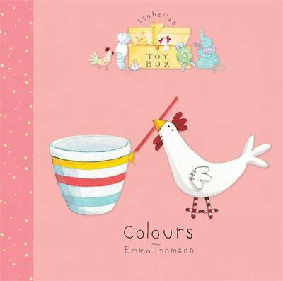 Isabella's Toybox: Colours Board Book by Emma Thomson image