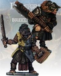Frostgrave Gnoll Knight & Templar