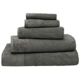 Bambury Costa Cotton Bath Towel (Pewter)