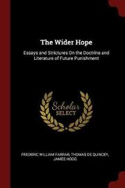 The Wider Hope by Frederic William Farrar image