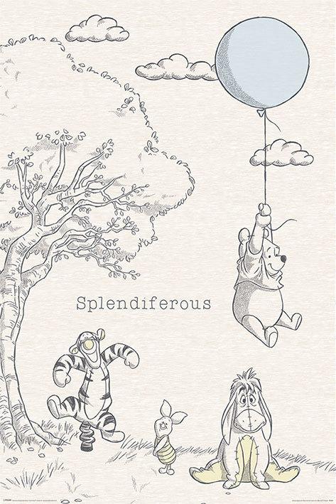Winnie The Pooh Splendiferous Maxi Poster (885) image