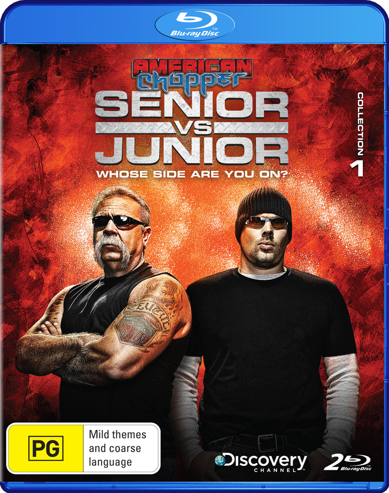 American Chopper: Senior vs Junior - Collection 1 on Blu-ray image