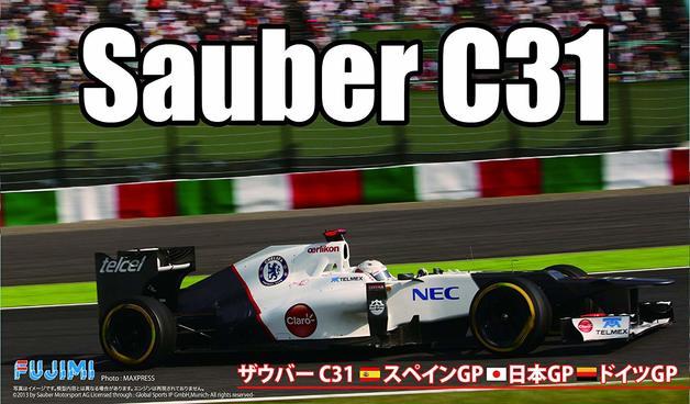 Fujimi: 1/20 Sauber C31 F1 Car 2012 (Japan/Spain/German GP) - Model Kit