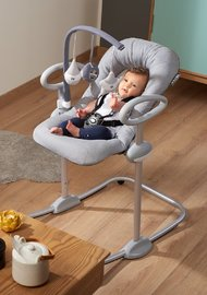 Beaba: Play-Arch for Up & Down Bouncer (Grey/White) image
