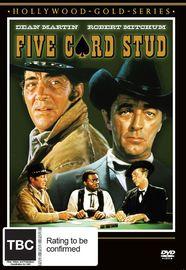 Five Card Stud on DVD