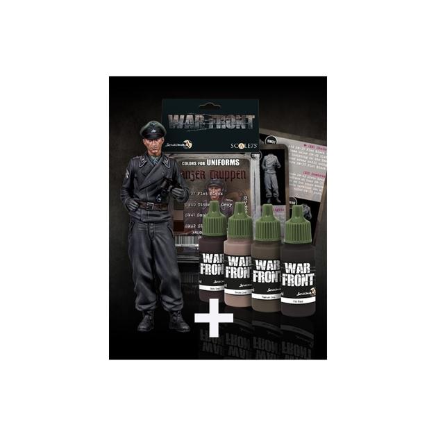 Scale75: 1:35 Pack Tanker Totenkopf + Panzer Truppen Set Figure