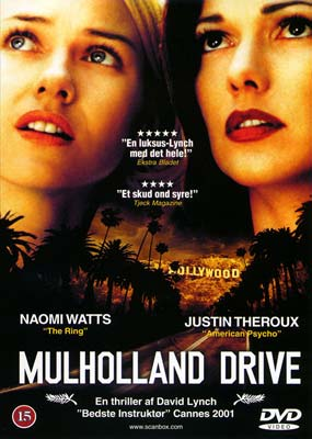 Mulholland Drive on DVD image