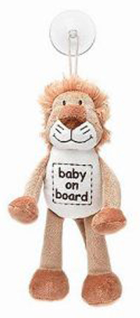 Diinglisar - Baby On Board Lion