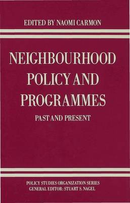 Neighbourhood Policy and Programmes