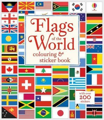 Flags of the World Colouring & Sticker Book by Susan Meredith image