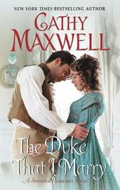 The Duke That I Marry by Cathy Maxwell image