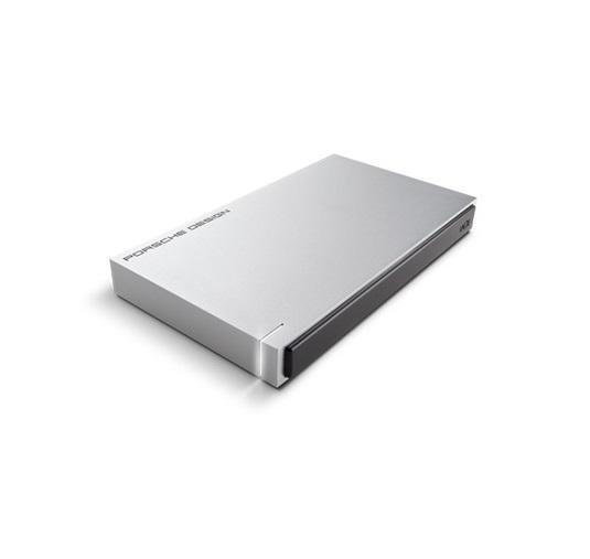 1TB LaCie Porsche Light Grey USB 3.0 Portable HDD