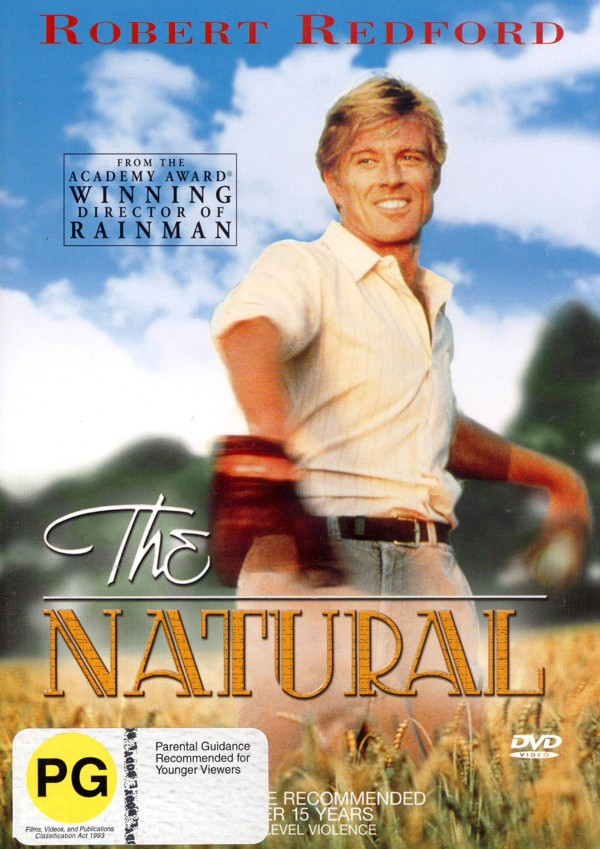 The Natural on DVD image