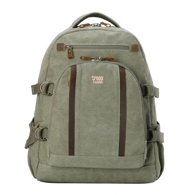 Troop London: Classic Backpack Large - Khaki