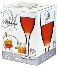 Luigi Bormioli Michelangelo 235ml Wine Glass - Set 4
