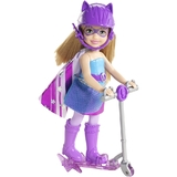 Barbie in Princess Power Scooter Doll - Scooter Purple