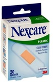 Nexcare Clear Plastic Plasters (20pk)
