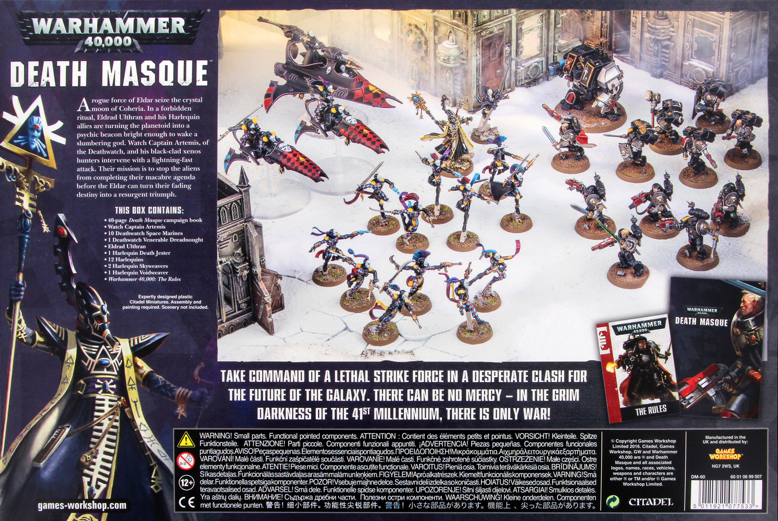 Warhammer 40 000 Death Masque At Mighty Ape Nz