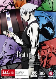 Death Parade - Complete Series on DVD
