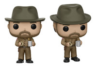 Stranger Things - Hopper with Donut Pop! Vinyl Figure (with a chance for a Chase version!) image