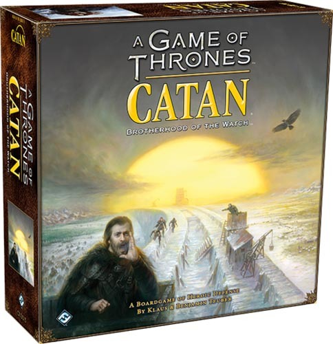 Catan: Game of Thrones - Brotherhood of the Watch image