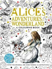 The Macmillan Alice Colouring Book by Lewis Carroll