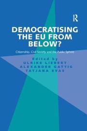 Democratising the EU from Below? by Ulrike Liebert image