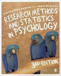 Research Methods and Statistics in Psychology by Alex Haslam image