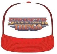 Loungefly: Stranger Things - Logo Red & White Trucker Cap