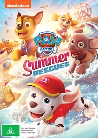 Paw Patrol: Summer Rescues on DVD