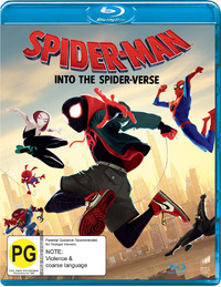 Spider-Man: Into the Spider-Verse on Blu-ray image