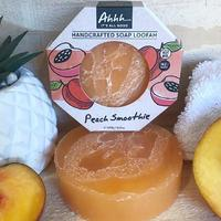 Ahhh Soaps Loofah Soap - Peach Smoothie (120g) image