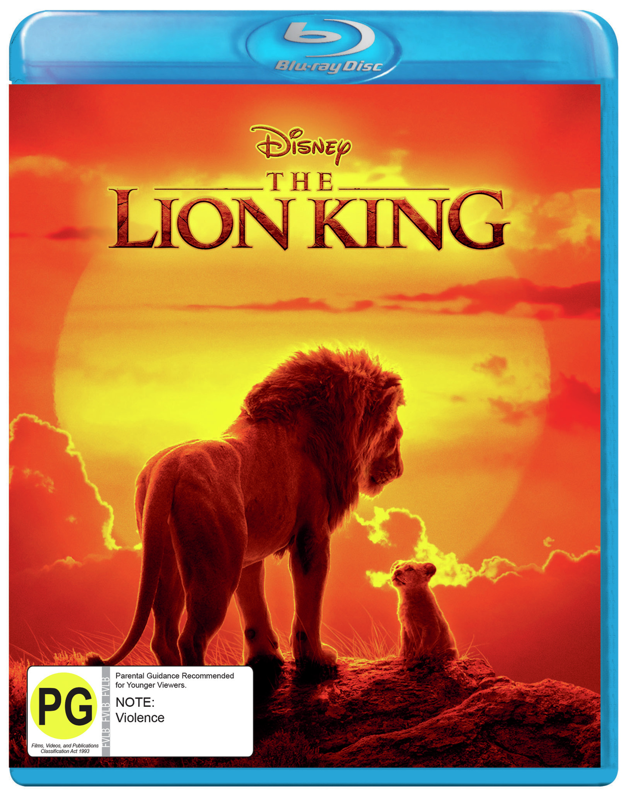 The Lion King (2019) on Blu-ray image