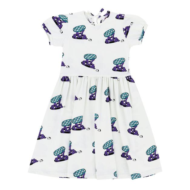 Jelly Alligator: Slime Invaders Dress - 10Y