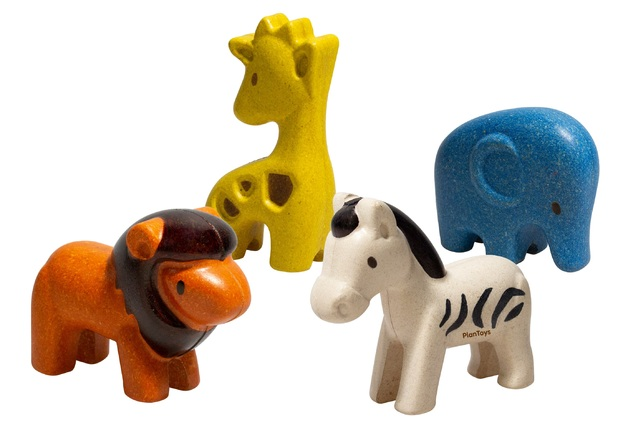 PlanToys - Wild Animals Set