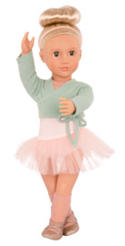 "Our Generation: 18"" Ballet Doll - Viola (Green)"