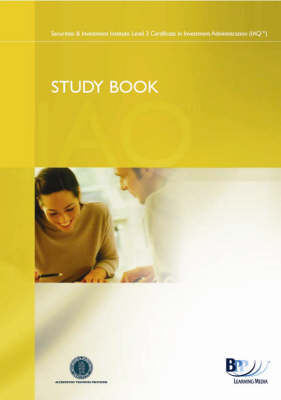 IAQ - FSA Regulatory Environment: Study Book by BPP Learning Media image