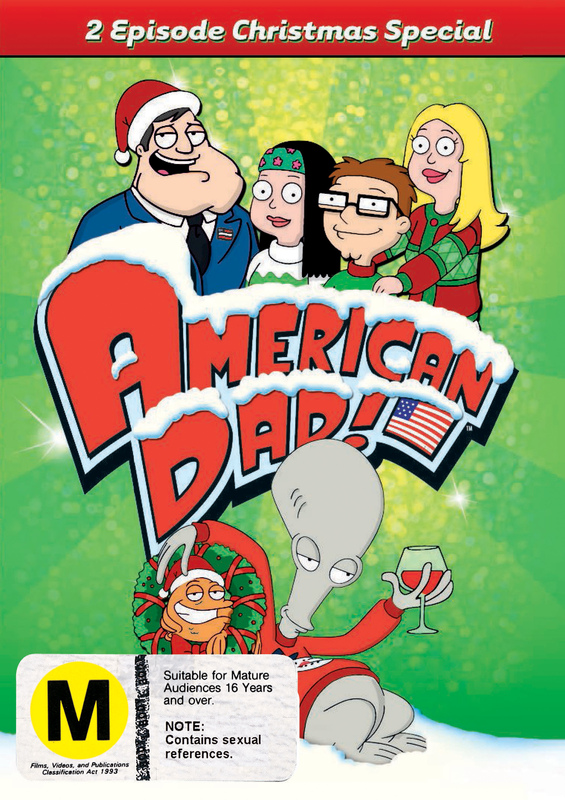 american dad christmas special on dvd - American Dad Christmas Episode