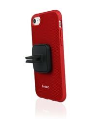 Evutec iPhone 7 Plus AERGO Ballistic Nylon Case with AFIX - Red