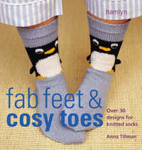 The Craft Library: Knits for Fab Feet & Cosy Toes by Anna Tillman image