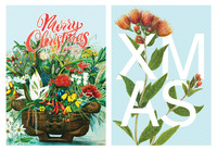 Reuben Price: Boxed Christmas Cards - Flowers (8 Pack)