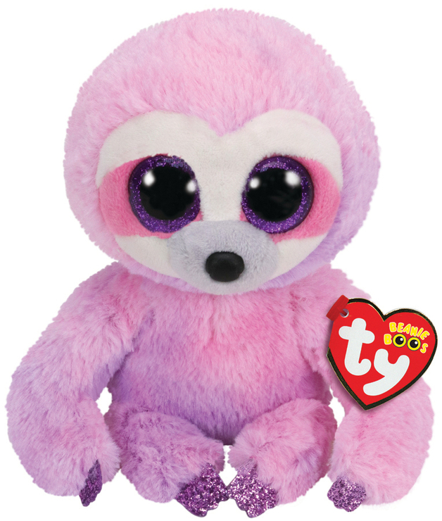 Ty Beanie Boo: Dangler Sloth - Small Plush