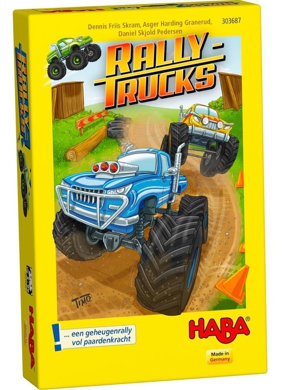 Rally Trucks - Children's Game